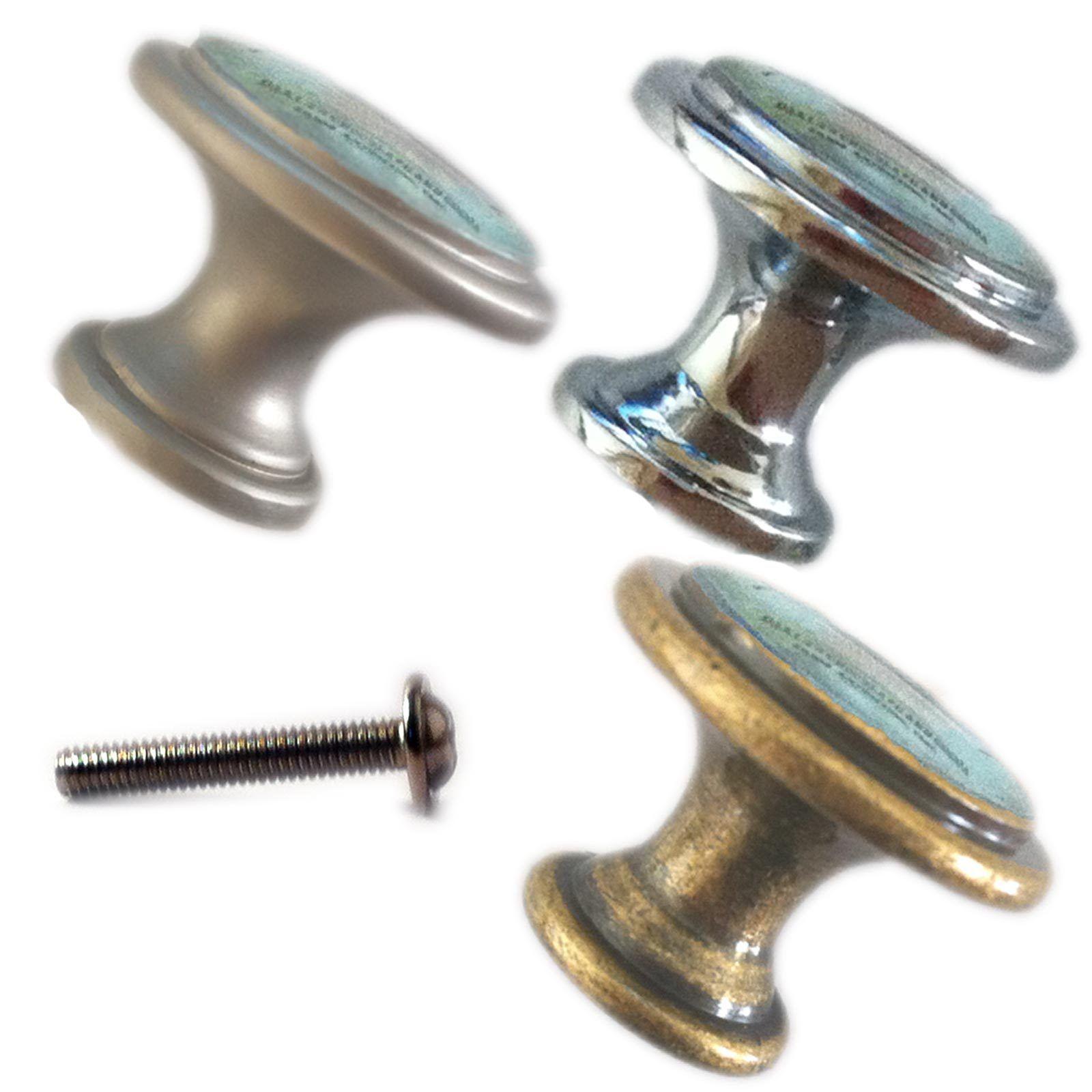 Zinc alloy knobs vintage kitchen 30mm cupboard drawer door for Kitchen set zink