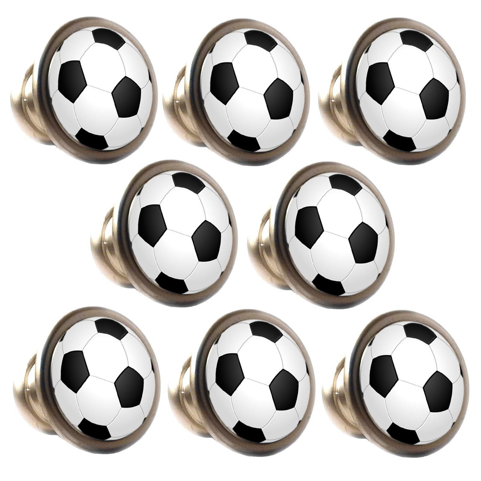 Zinc Alloy Knobs Football 30mm Cupboard Drawer Door Handles Decorated